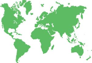 Mapa Mundi Servicios Globales de Distribucion