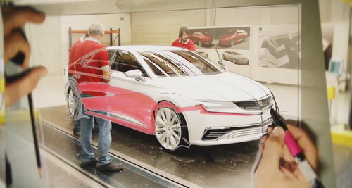 Video Making Of Diseño nueva berlina IBL de SEAT