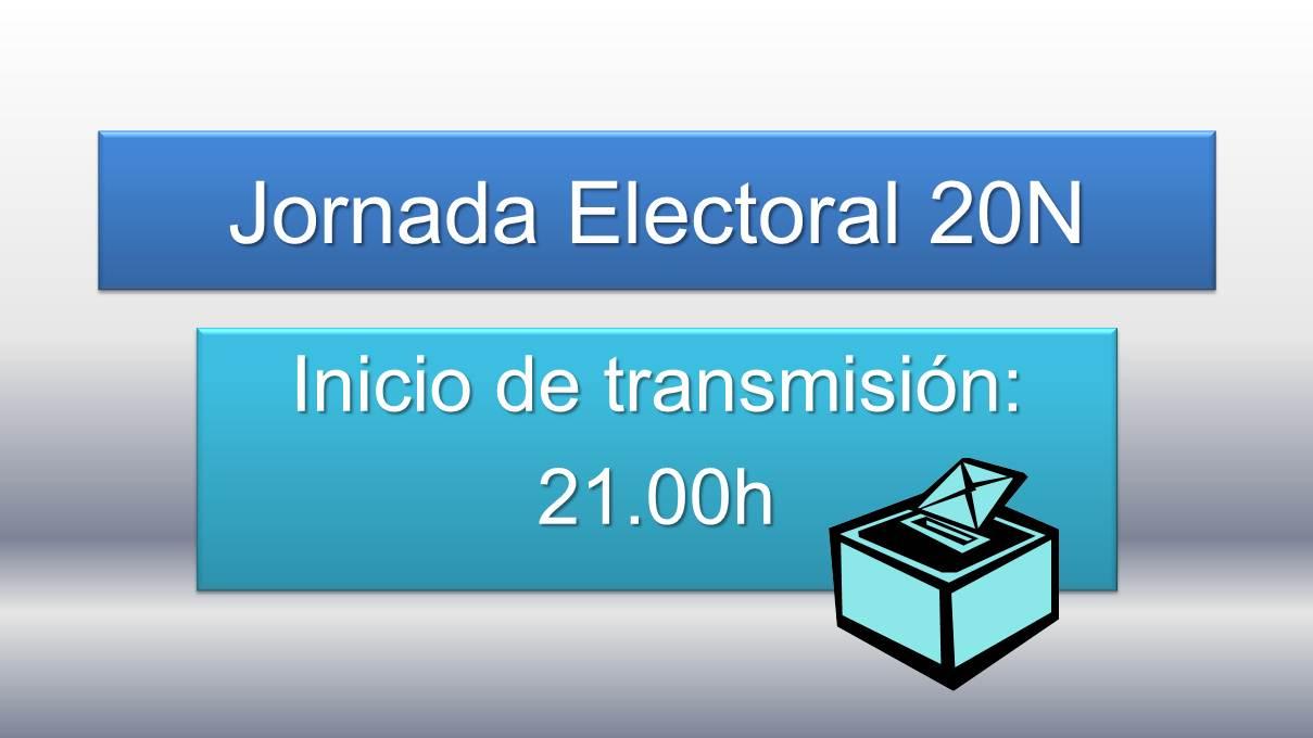 Jornada Electoral en streaming REPORTARTE