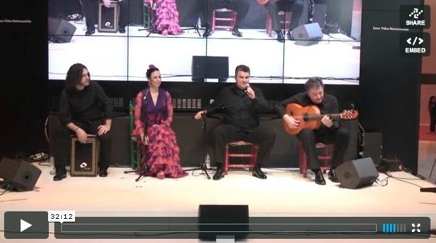 Cuadro Flamenco de Eduardo Rebollar