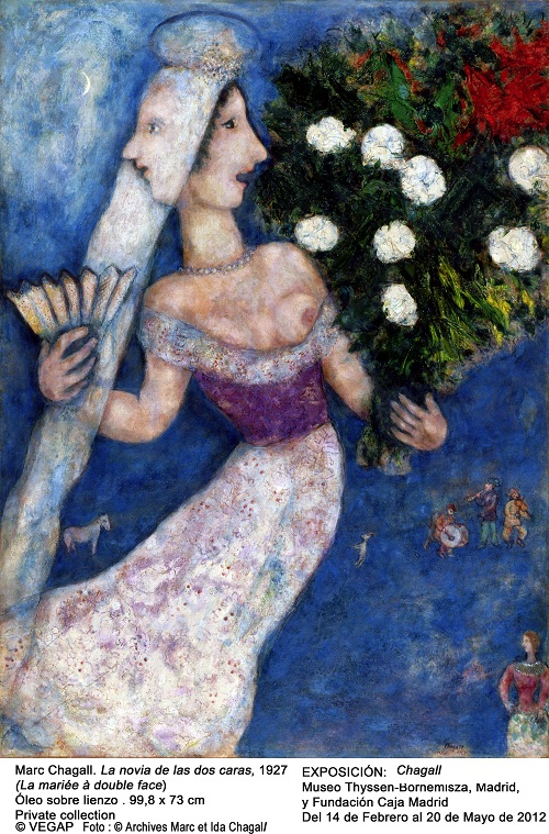 In English: Marc Chagall in Madrid