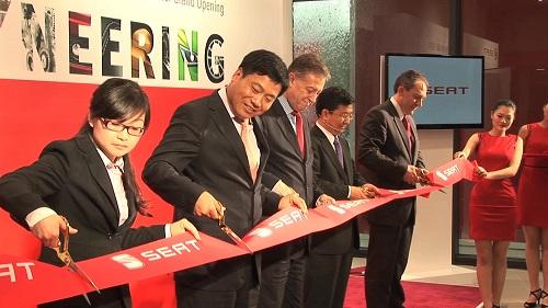 Inauguración de Concesionario SEAT en Pekín