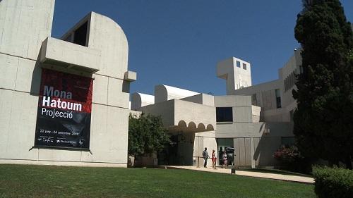 Exterior Fundació Joan Miró, Barcelona