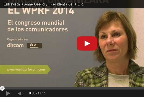 Entrevista a Anne Gregory, presidenta de la Global Alliance for Public Relations and Communication Management