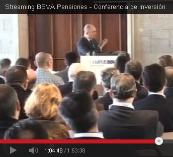 Conferencia de Inversiones 2014 de Pensiones BBVA