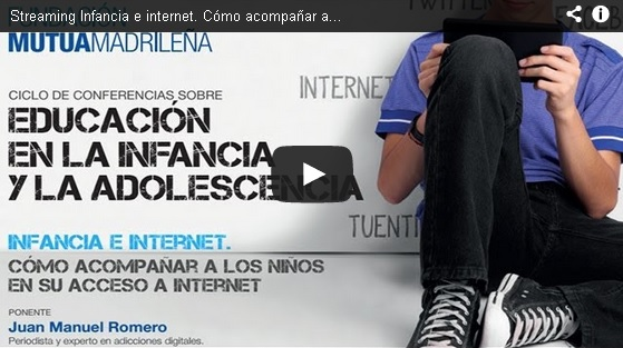 "Streaming ""Educación en la infancia y la adolescencia"""