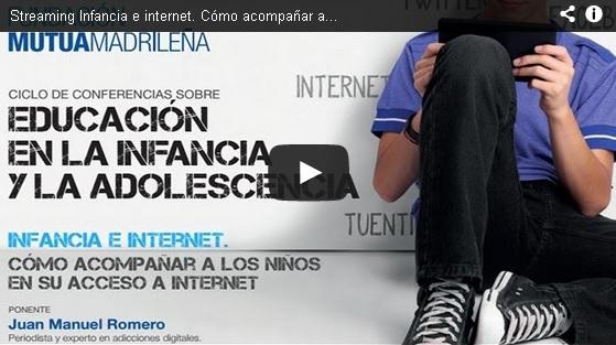 """Streaming """"Educación en la infancia y la adolescencia"""""""