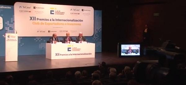 Premios a la Internacionalización Club de Exportadores e Inversores