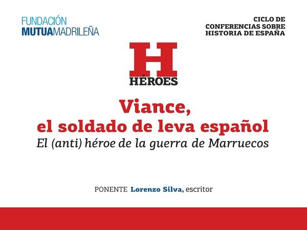 """En directo: Lorenzo Silva en """"Conferencias de la Historia"""" en la Fundación Mutua Madrileña"""