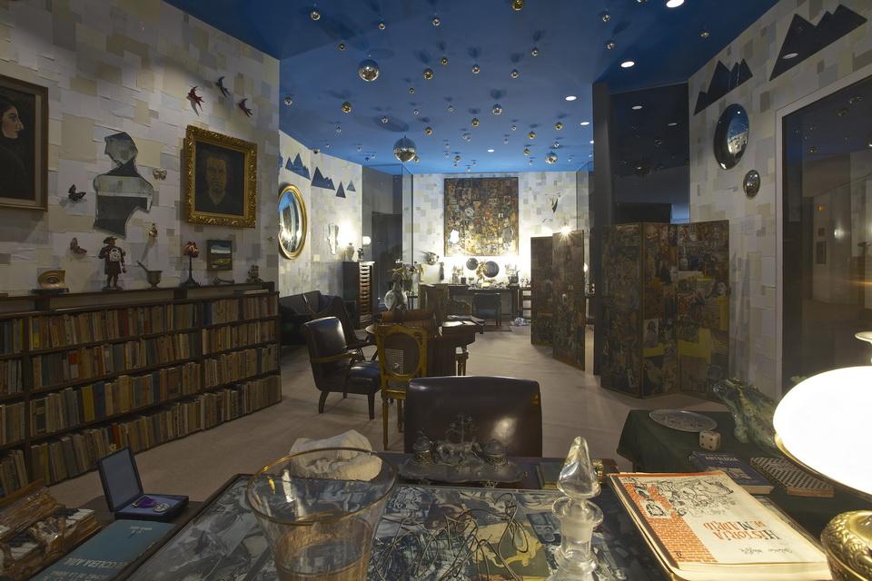 MUSEO DE ARTE CONTEMPORÁNEO. DESPACHO DE RAMON GÓMEZ DE LA SERNA. Foto Pablo Linés