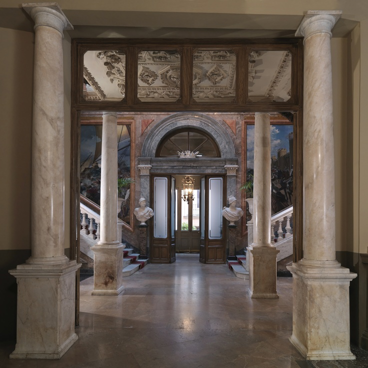 MUSEO CERRALBO: ENTRADA Y GRAN PORTAL
