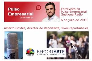 ¿Cómo funciona Reportarte? Entrevista en Pulso Empresarial