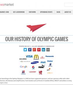 La mejor opción para difusión de #brandedcontent y patrocinios en JJOO Río 2016