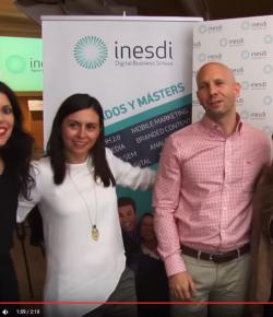 Vídeo graduación alumnos 2014-15 de INESDI