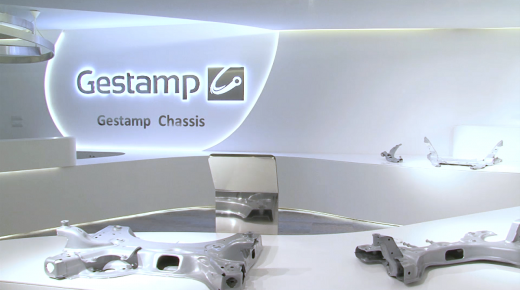Gestamp Showroom: arte industrial