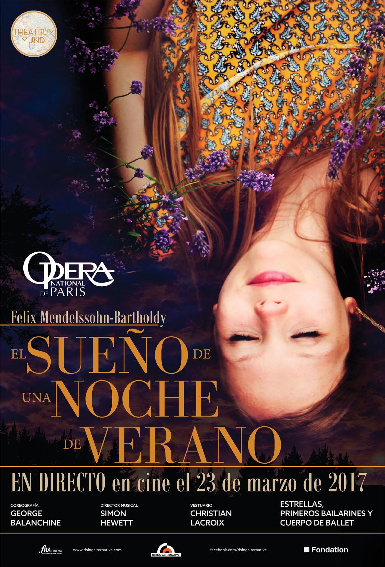 """El """"Sueño de una Noche de Verano"""" de Balanchine / Lacroix, en cines españoles"""