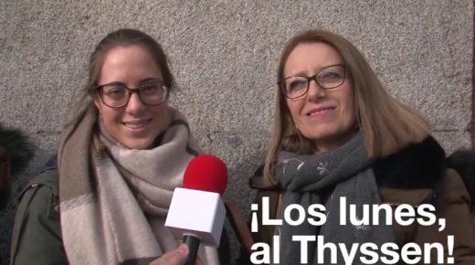 ¿Los lunes? ¡Al Thyssen!