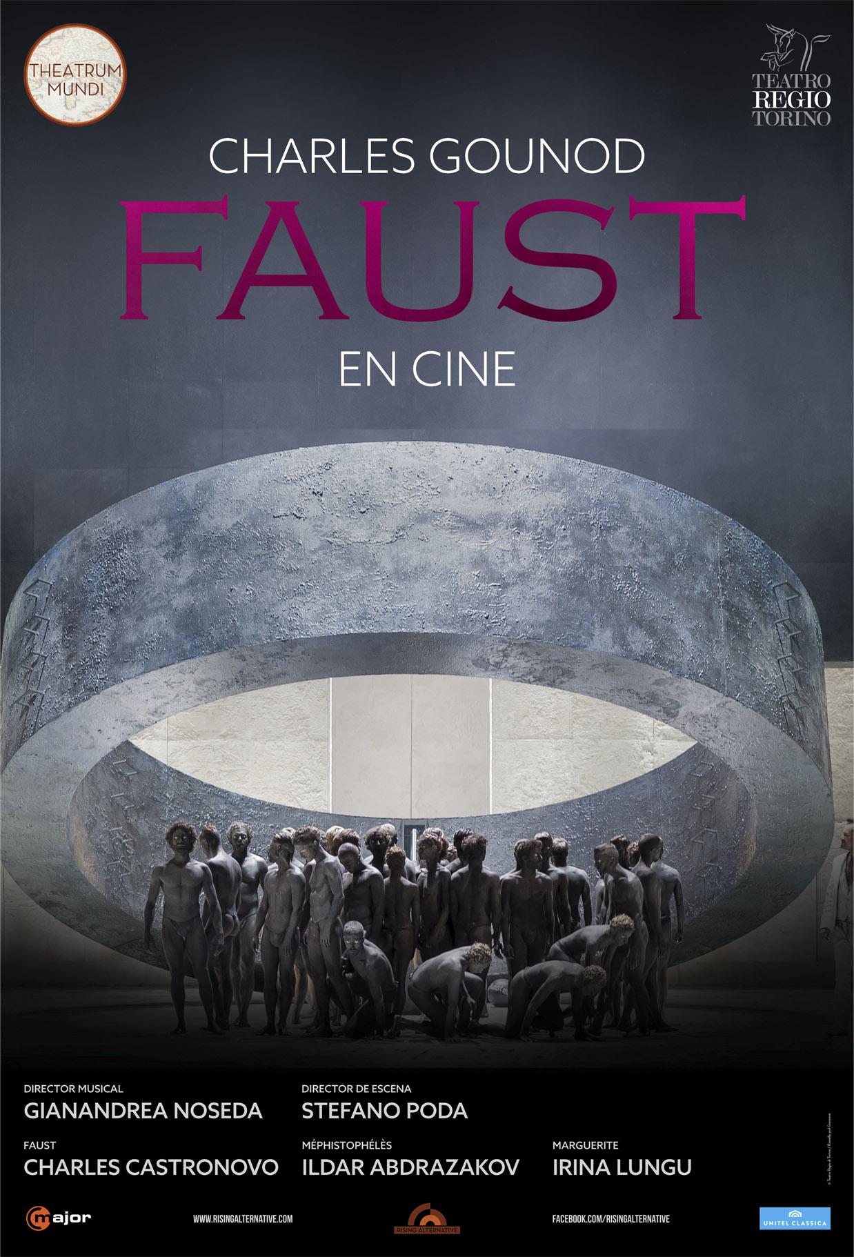 """El """"Fausto"""" de Turín, en cines"""