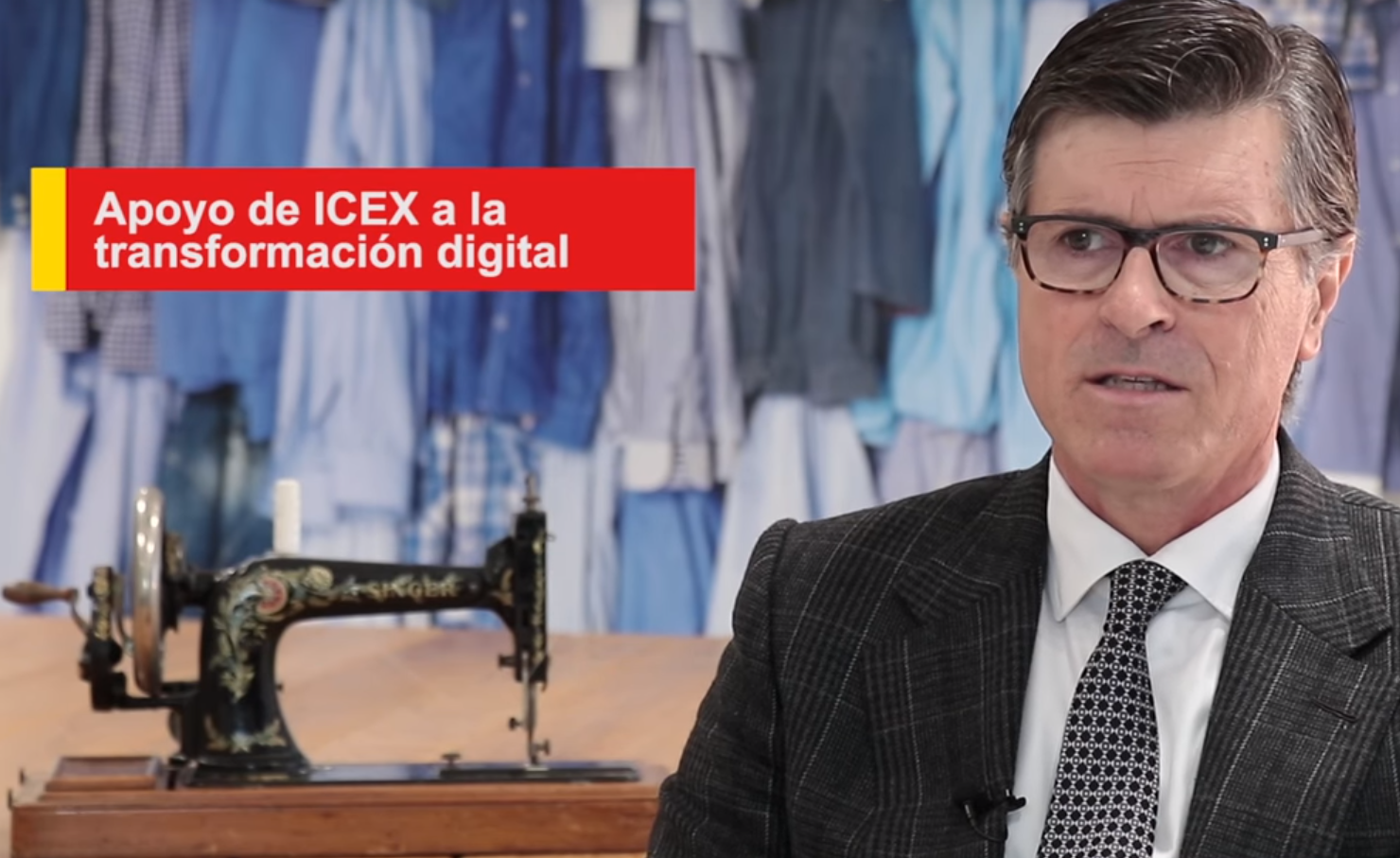 Vídeos testimoniales de servicios ICEX