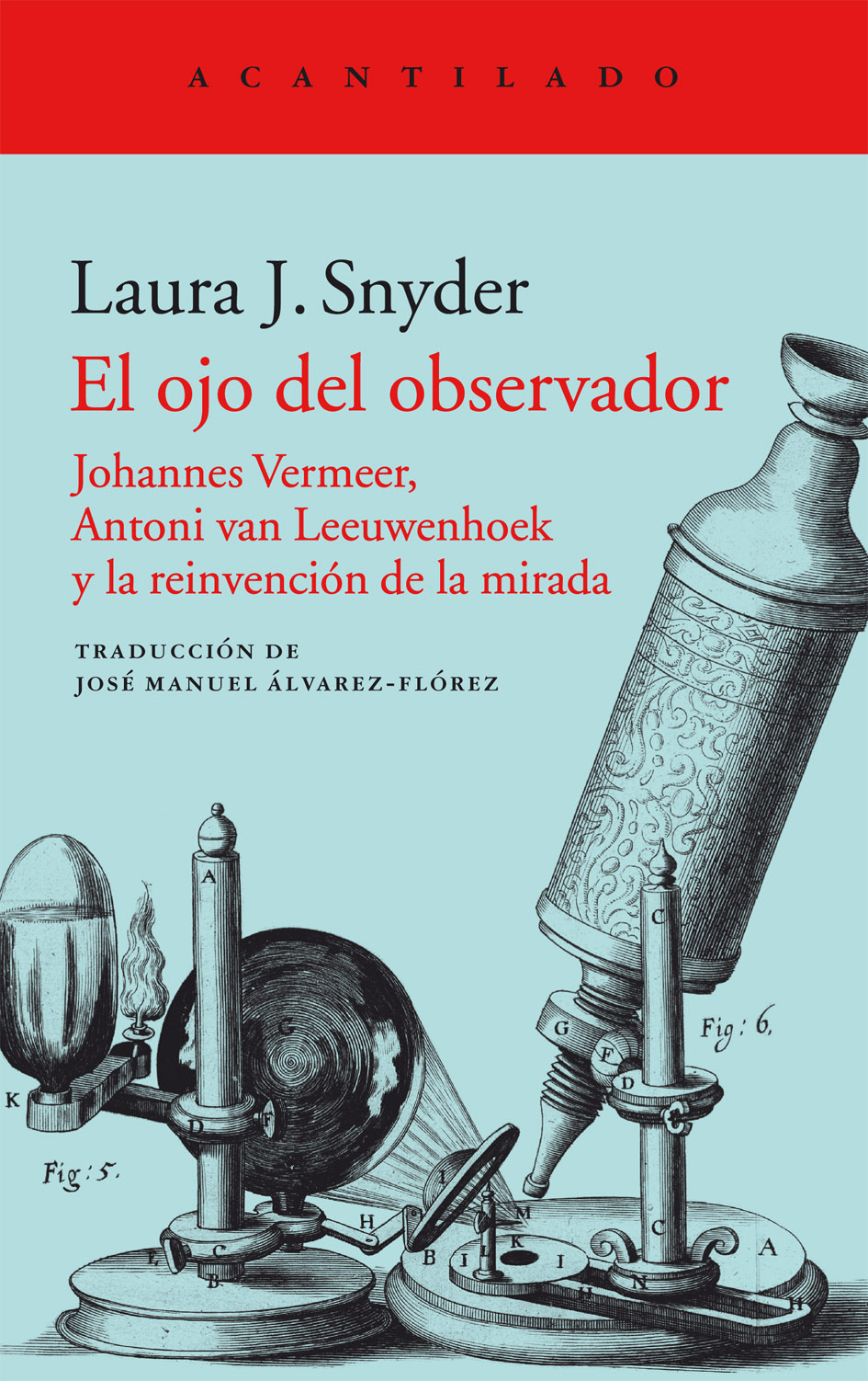 """Vídeo-reseña de libros: """"El Ojo del Observador"""", de Laura Snyder"""