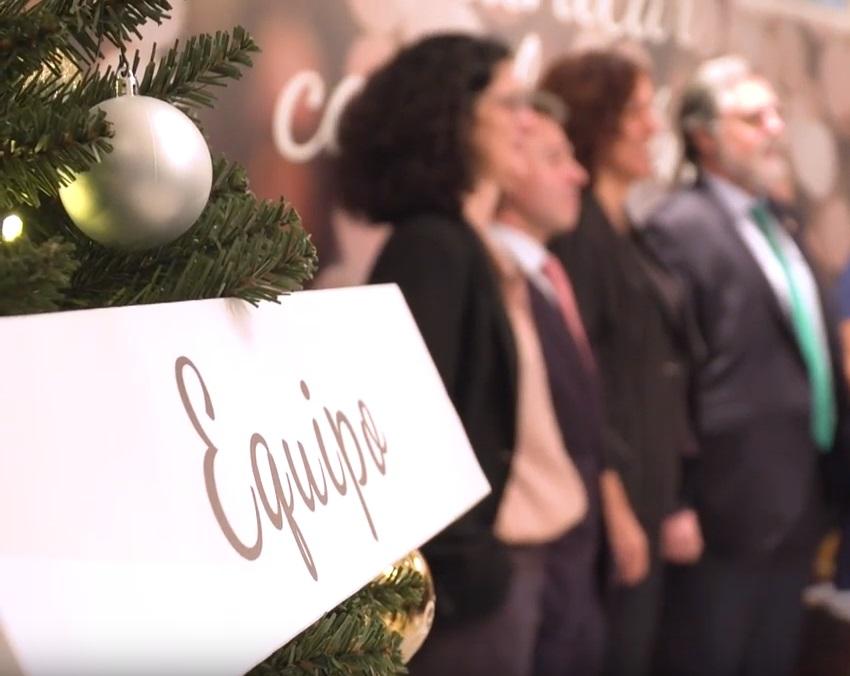 Y tú, ¿qué palabra eliges? Cena de Navidad Dircom 2018