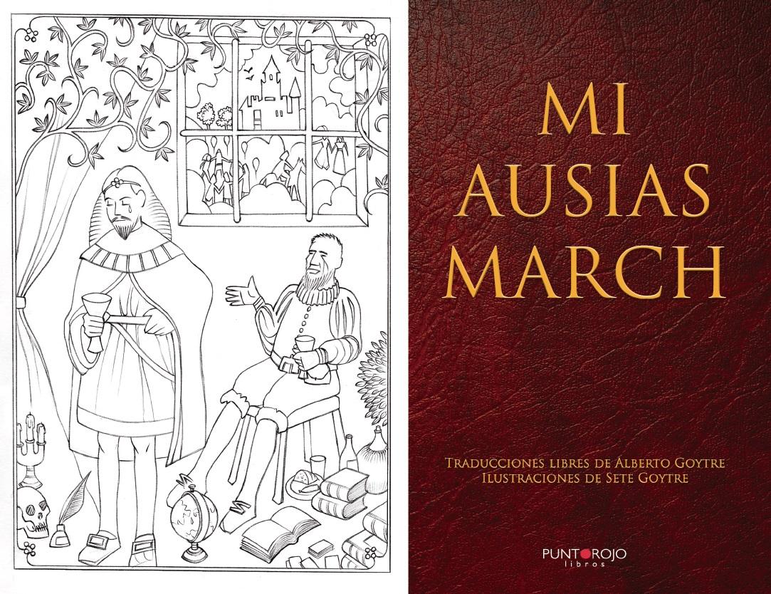 """""""Mi Ausias March"""", en la Galería Floridablanca de San Lorenzo de El Escorial"""