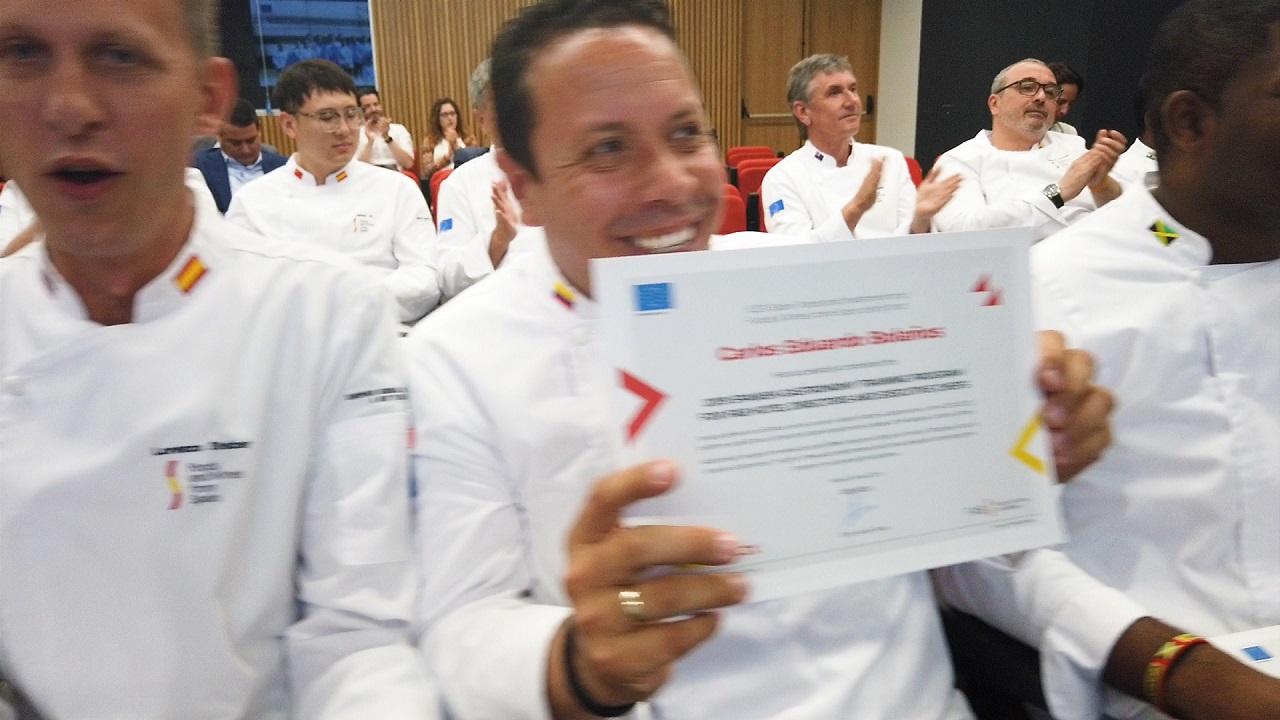 Enamorando a chefs de 23 países
