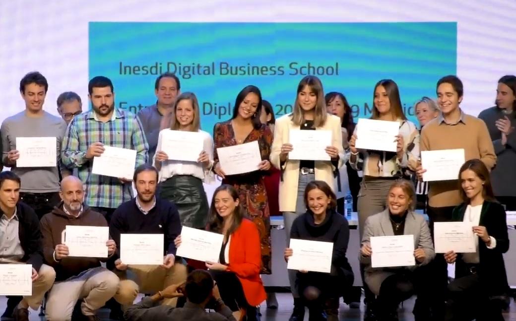 370 profesionales digitales se gradúan con la promoción 2018-19 de INESDI Digital Business School