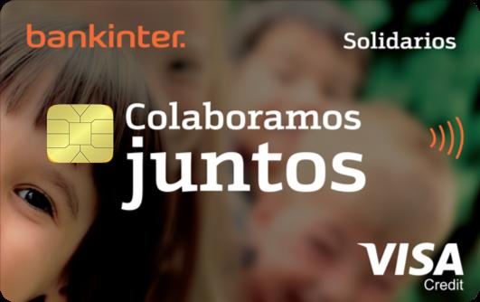 Una tarjeta de crédito para financiar proyectos solidarios