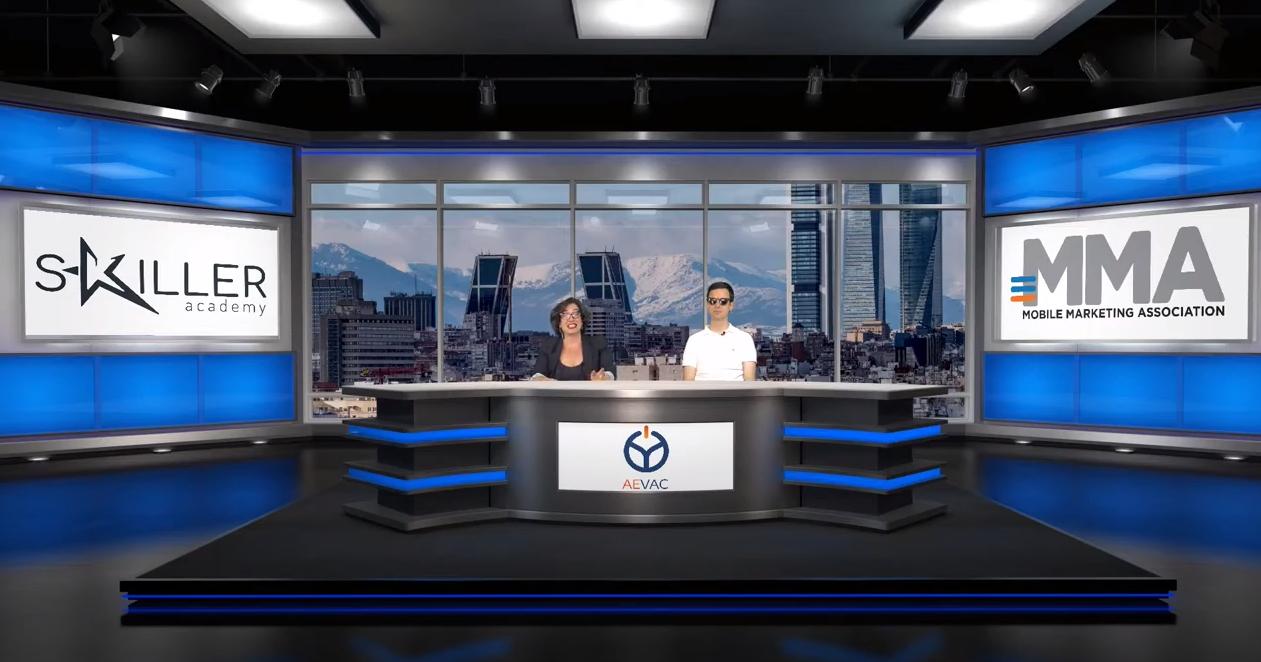 Eventos en espacios virtuales en Estudio Reportarte